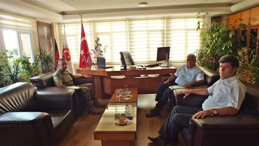 39'uncu Mknz.P.Tug.K. Tuğgeneral Alparslan KILINÇ Bölge Müdürlüğümüzü ziyaret etti.