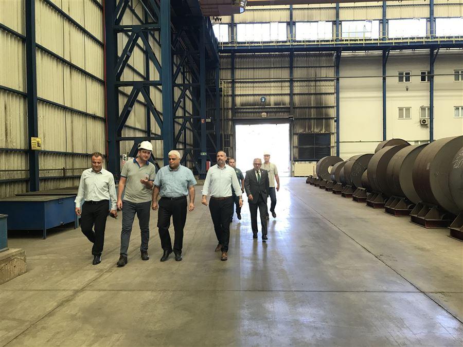 Bölge Müdürümüz Sayın Akif ERTEKİN, MMK Metalurji Limanını ziyaret etti.