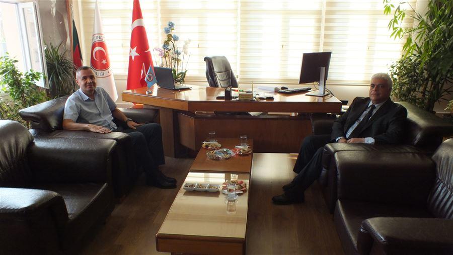 Arsuz Kaymakamı Sn. Musa SARI Bölge Müdürlüğümüzü Ziyaret Etti.
