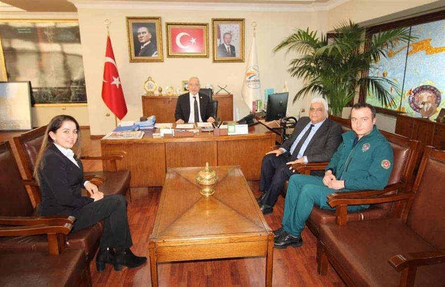 26 Ocak Dünya Gümrük Günü Kutlamaları Kapsamında İskenderun Belediyesine Ziyaret Gerçekleştirildi.