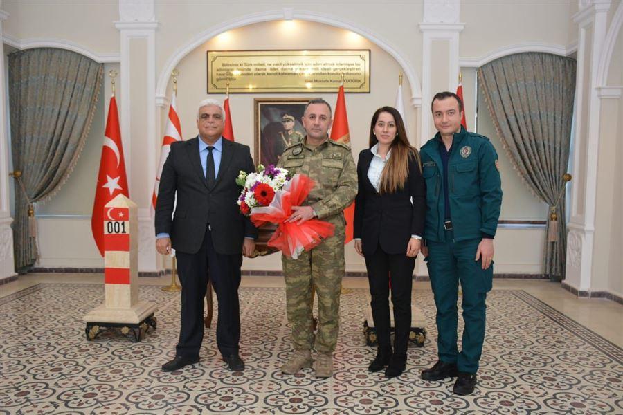 26 Ocak Dünya Gümrük Günü Kutlamaları Kapsamında Garnizon Komutanı Ziyaret Edildi.