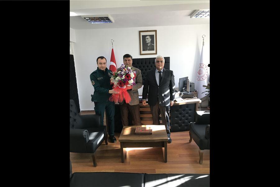 26 Ocak Dünya Gümrük Günü Kutlamaları Kapsamında İskenderun İskenderun Liman Başkanı Ziyaret Edildi.