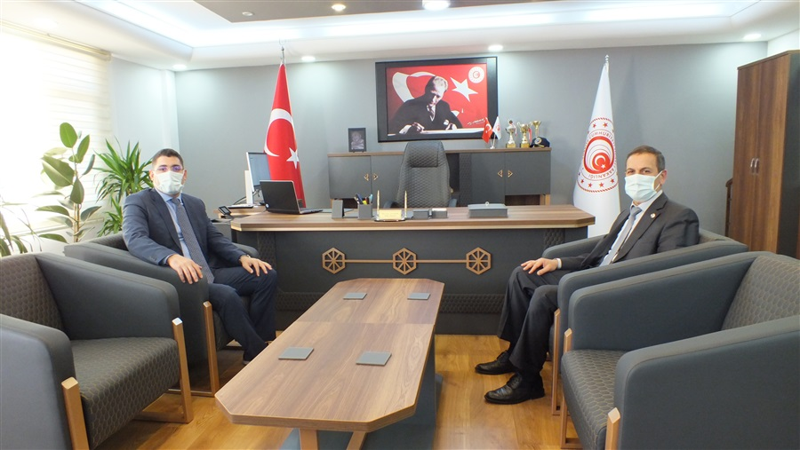 Vali Yardımcısı Sn. Yusuf İZCİ'nin Bölge Müdürlüğümüze Ziyareti